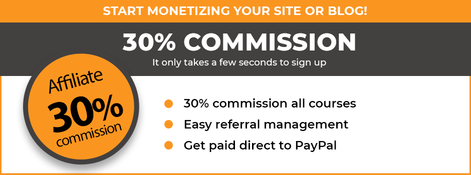 Earn Commission on Online Course Sales