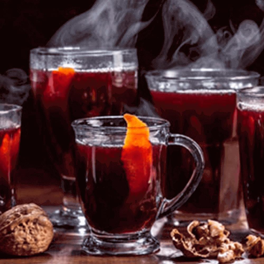 Добавьте сахар в безалкогольный имбирны пунш в капсулах Nespresso по вкусу