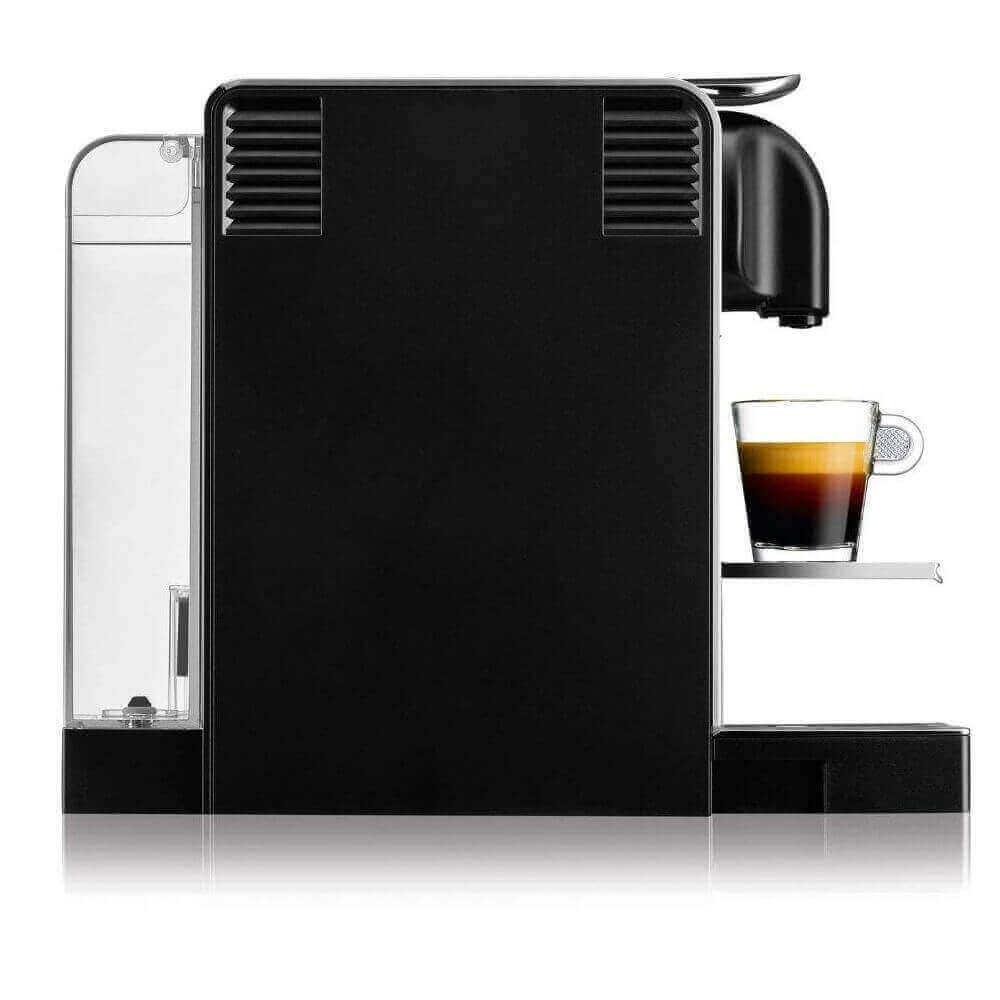 Капсульная кофемашина Delonghi Nespresso Lattissima Pro EN750 MB вид сбоку
