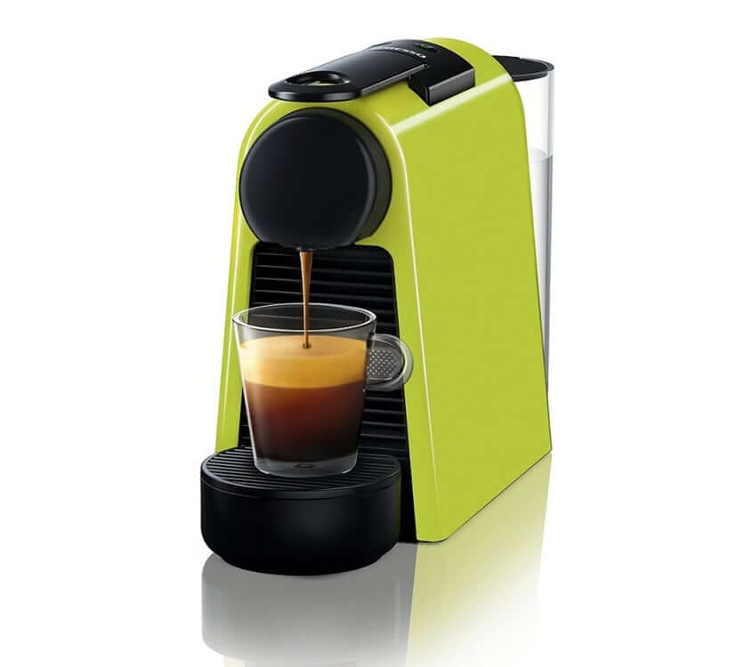Кофемашина Delonghi Nespresso Essenza Mini EN85 салатовый цвет