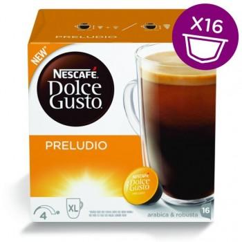 Preludio в капсулах для кофемашин Nescafe Dolce Gusto