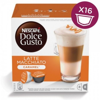 Latte Macchiato Caramel в капсулах для кофемашин Nescafe Dolce Gusto