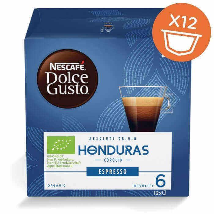 Эспрессо Honduras Corquin в капсулах для кофемашин Nescafe Dolce Gusto
