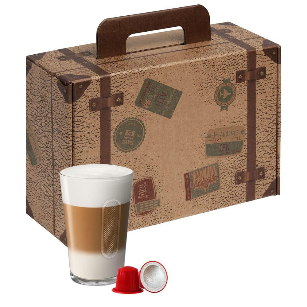Набор кофе-капсул к 23 февраля для кофемашин Nespresso