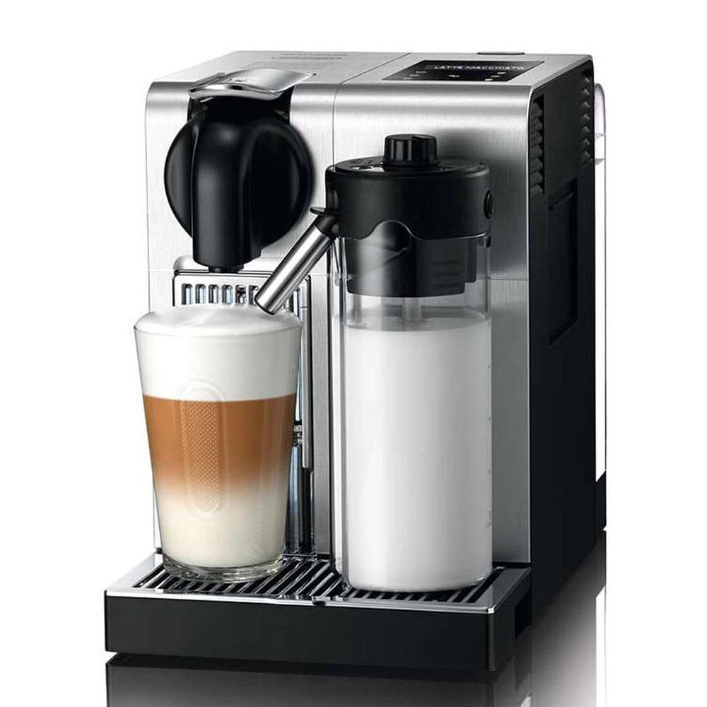 Капсульная кофемашина Delonghi Nespresso Lattissima Pro EN750.MB цвет серебряный