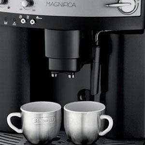 Одновременное приготовление двух чашек кофе на De'Longhi Magnifica ESAM 3000.B Execution