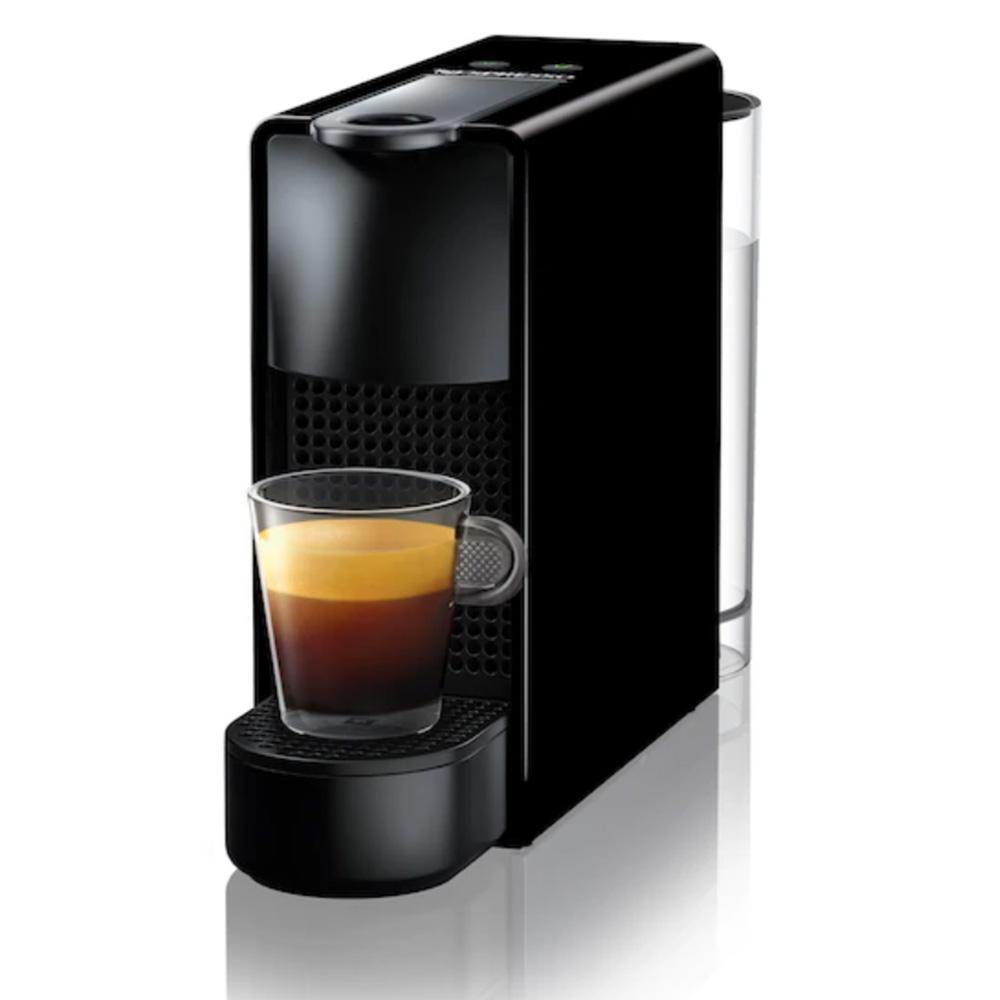 Капсульная кофемашина Nespresso Essenza Mini C30 черного цвета