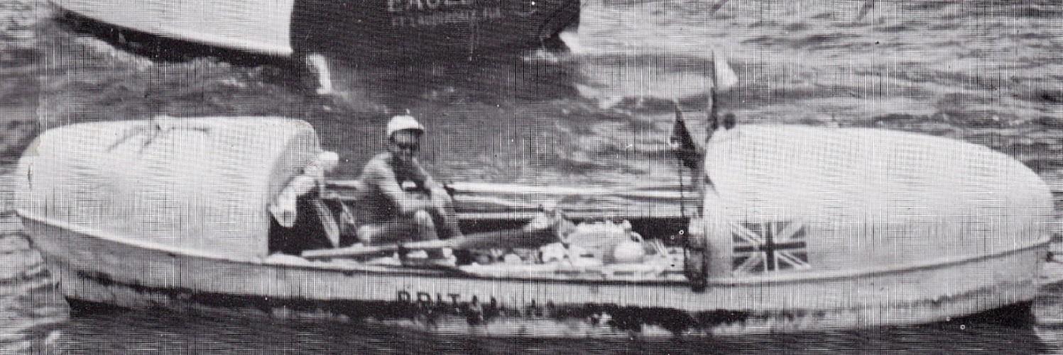 Monumental day in ocean rowing