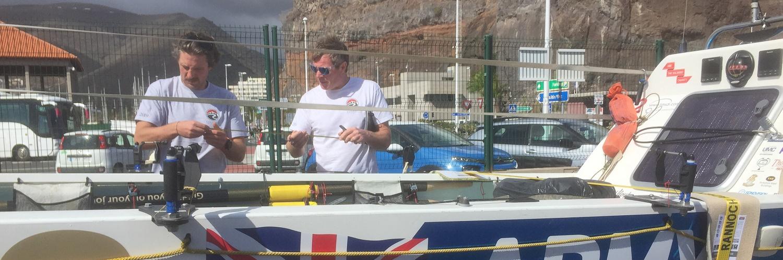 It's all hands on deck in La Gomera
