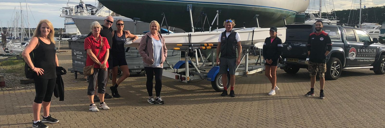 Rannoch donates two Explorers to local rowing club