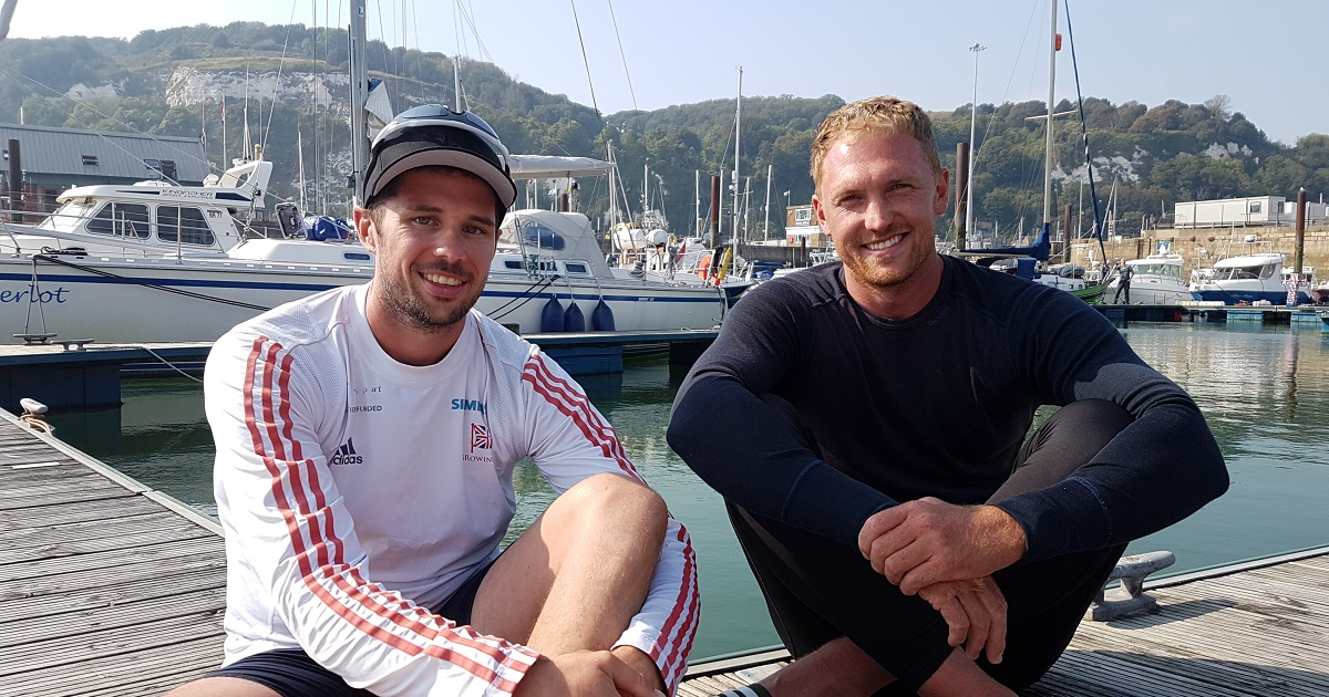 Olympians conquer the English Channel in an Explorer