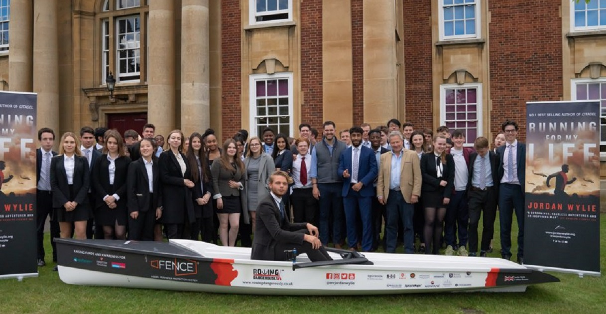Rowing Dangerously goes from school library to the Solent
