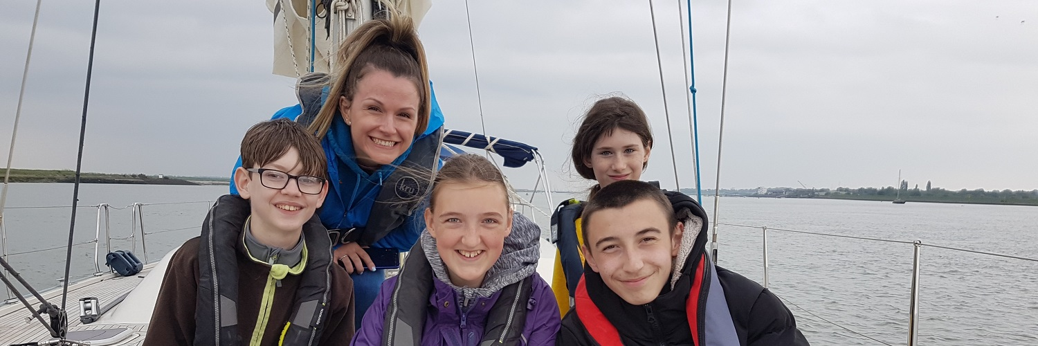 Cruising on the River Crouch brings smiles all round