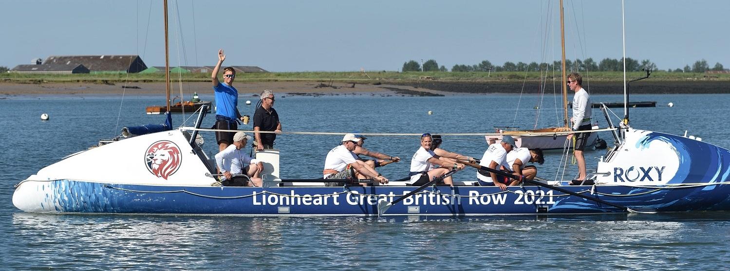 Lionheart Great British Row 2021