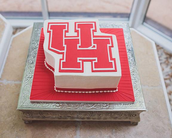 University of Houston Groom's Cake