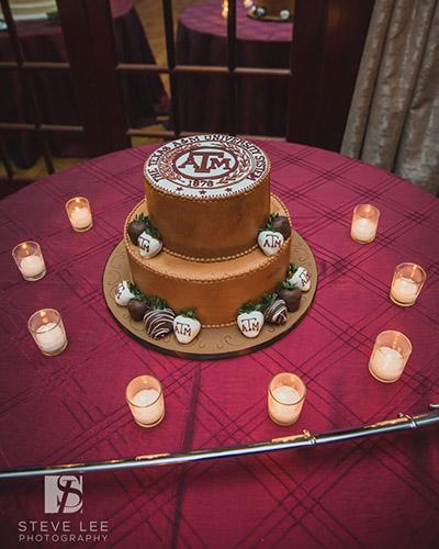 Texas A&M Logo Groom's Cake