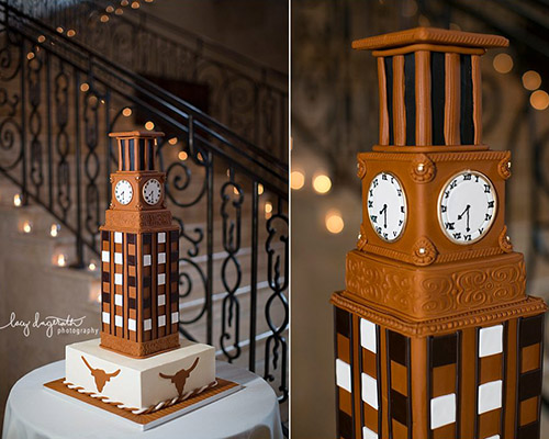 University of Texas Tower Groom's Cake