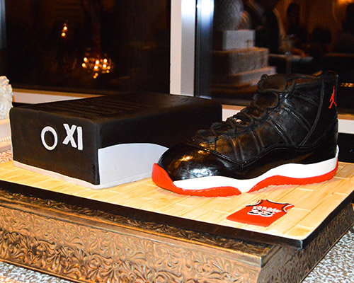 Air Jordan 11 Groom's Cake