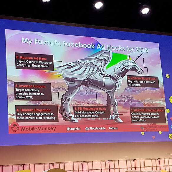 Facebook Ad Hacks auf der AllFacebook Marketing Konferenz in München