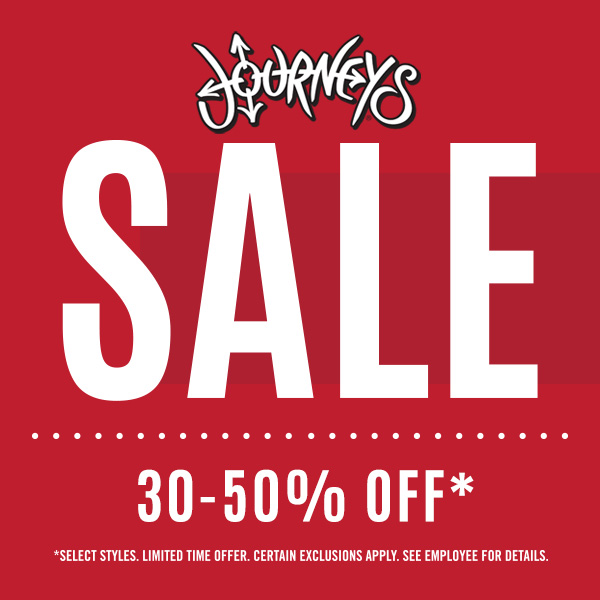 Journeys summer sale