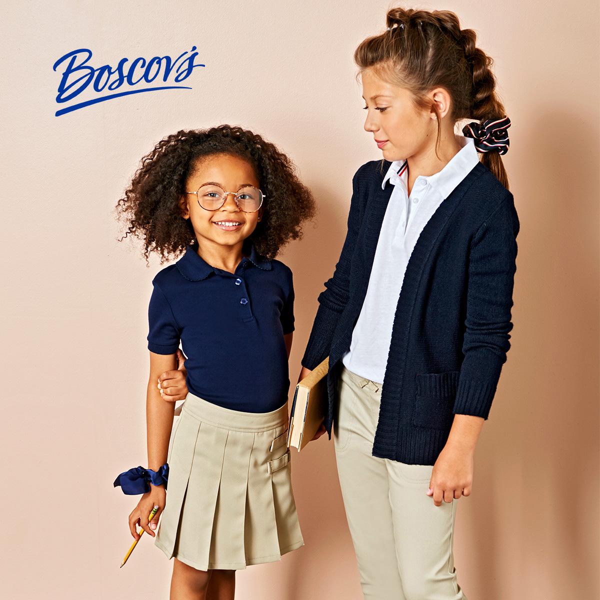 boscovs school uniforms