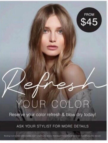 Regis Salon Refresh Your Color