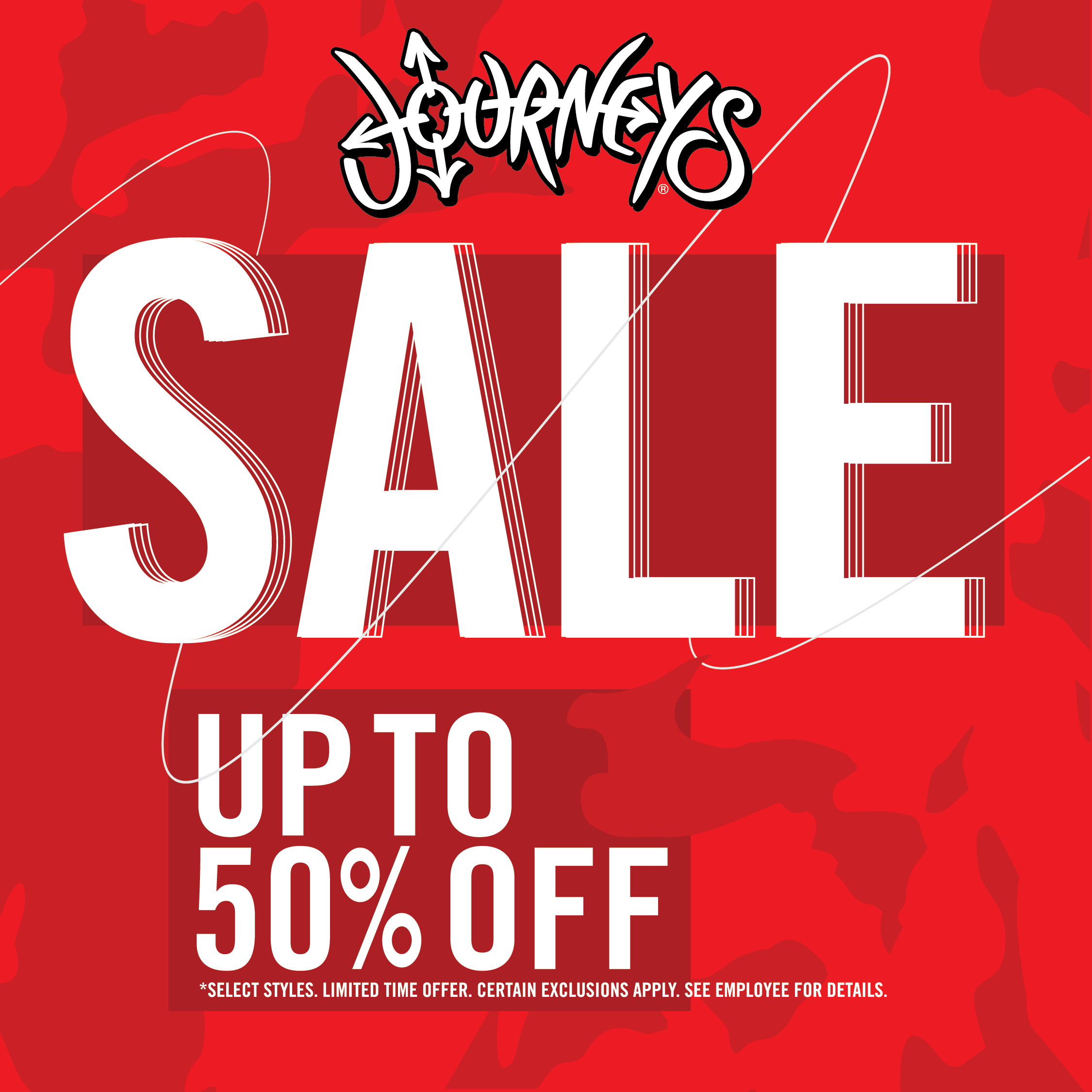 Journeys Sale Up to 50% Off