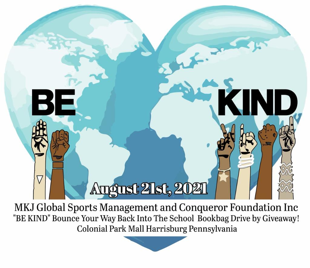 Be Kind event poster