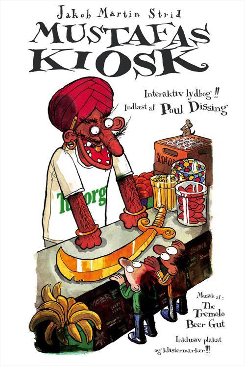 Mustafas kiosk (lydbok/DVD)