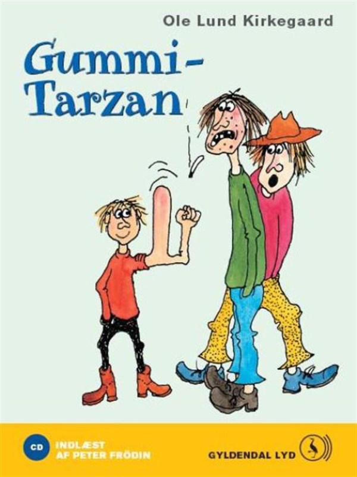 Gummi-Tarzan (lydbok)