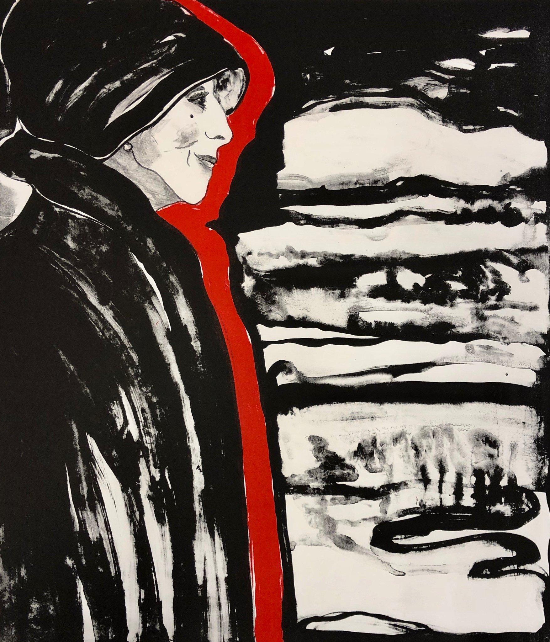 Nordiske ikoner: Litografi av Karen Blixen