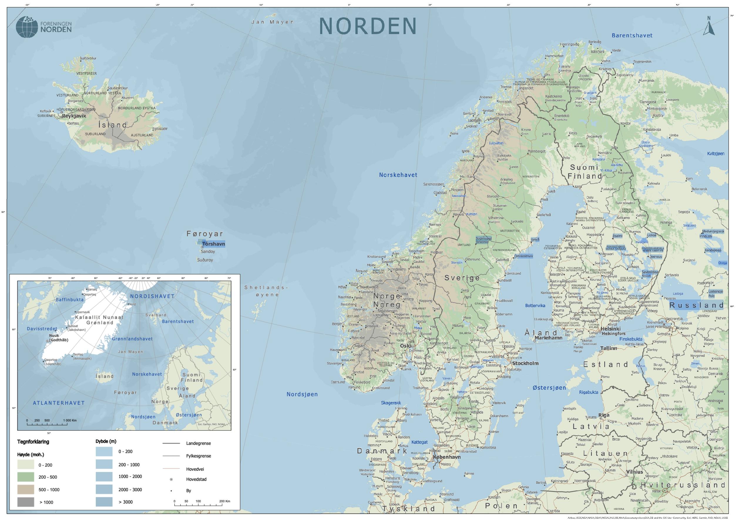 Nordenkart