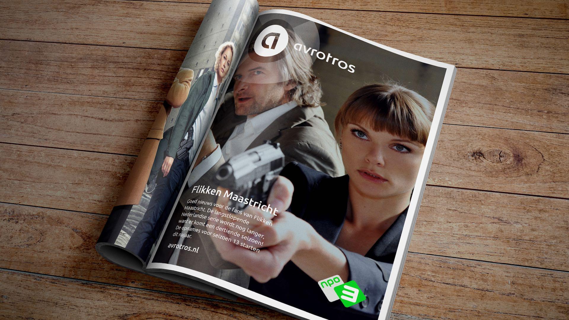 avrotros magazine tijdschrift logo branding