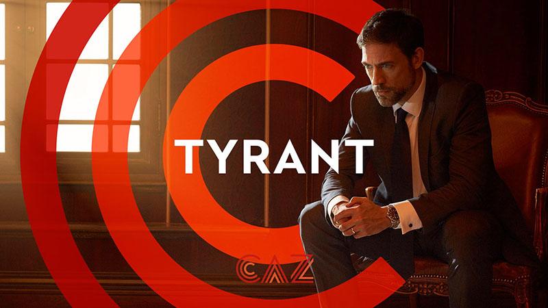 CAZ Tyrant opener leader ident frame tv