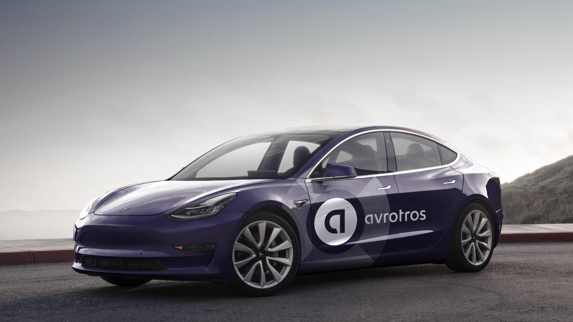 avrotros car auto branding logo