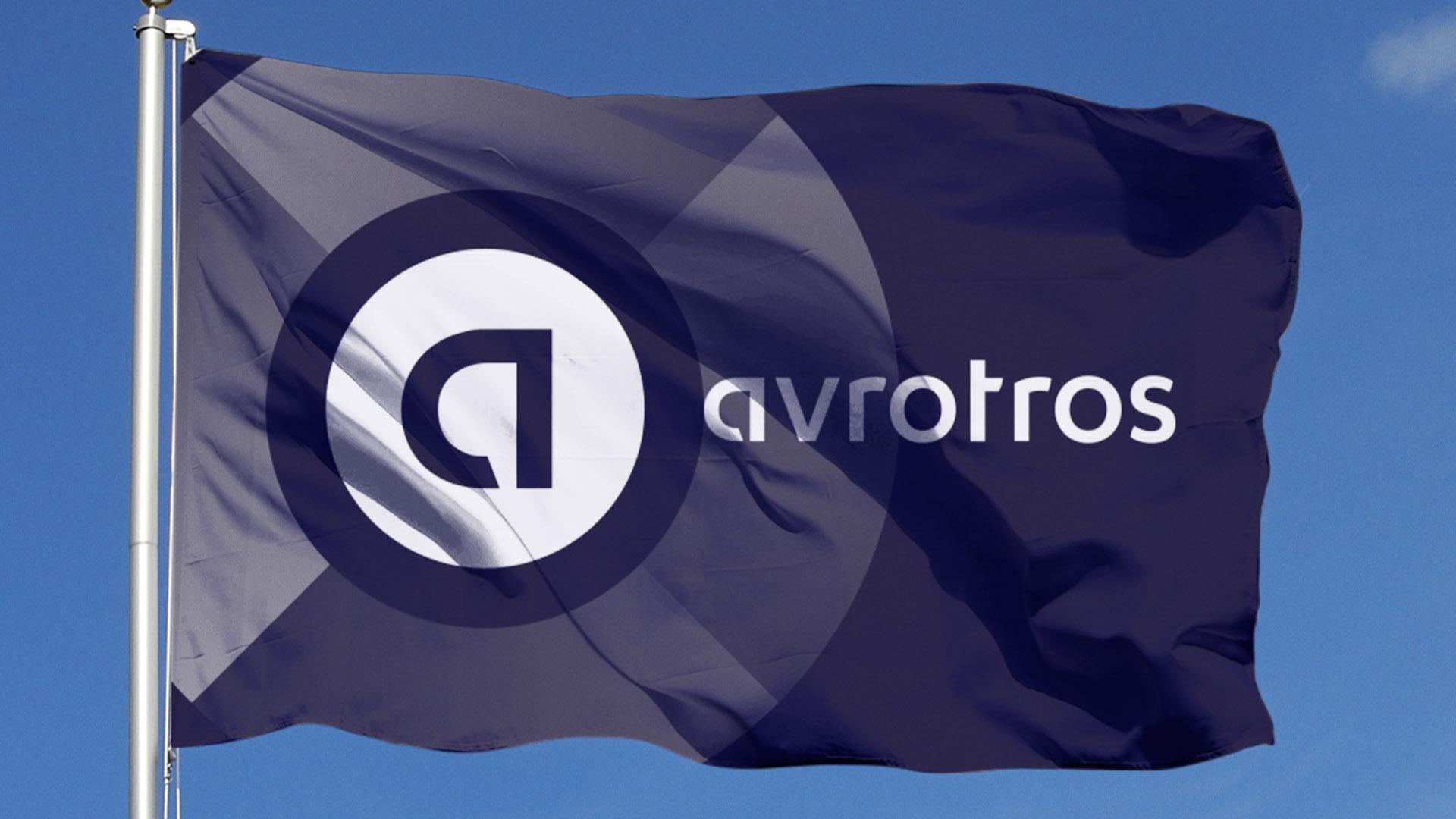 avrotros flag vlag branding logo