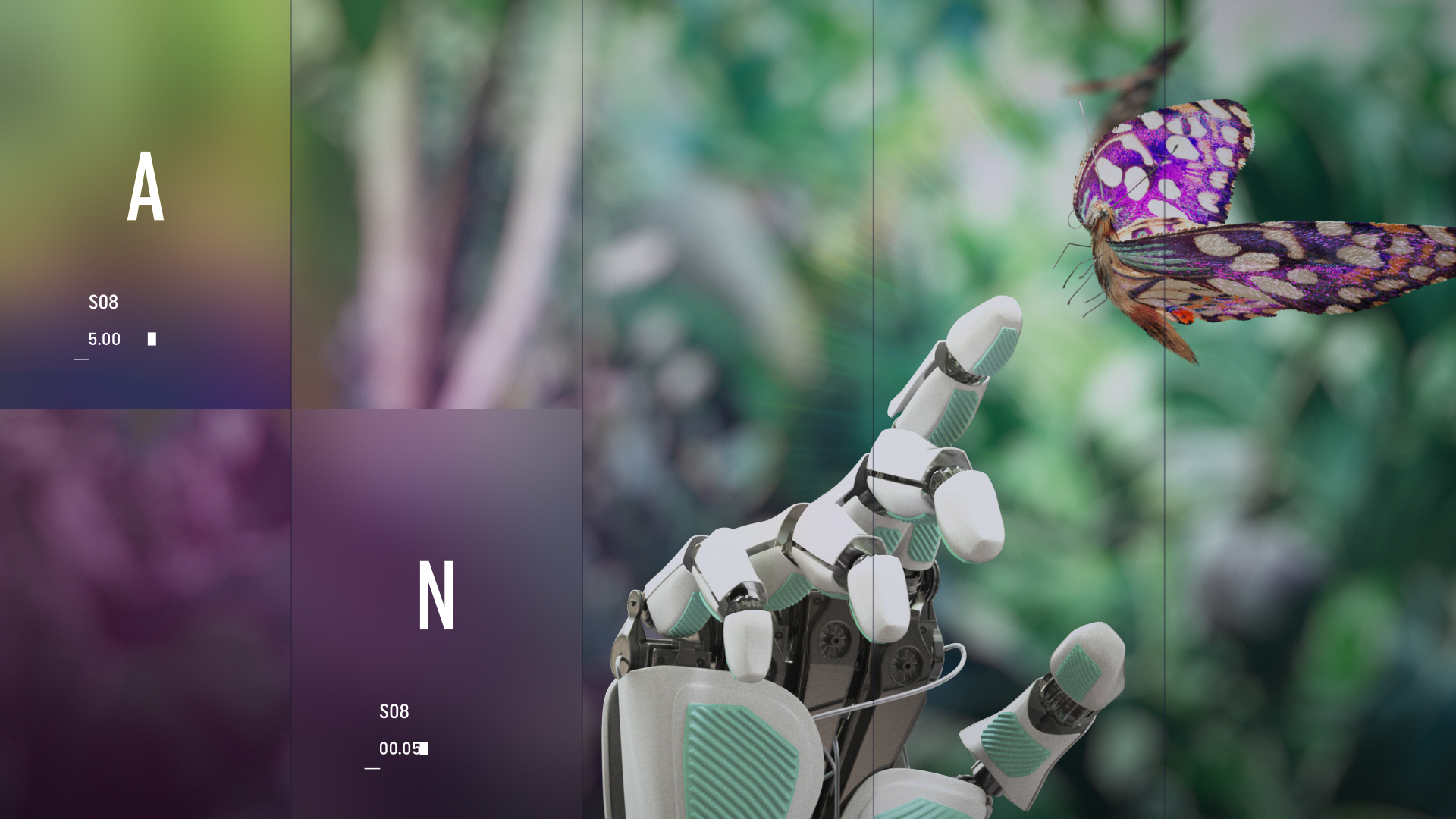 DW Tomorrow Today Still Robot Hand design channel program