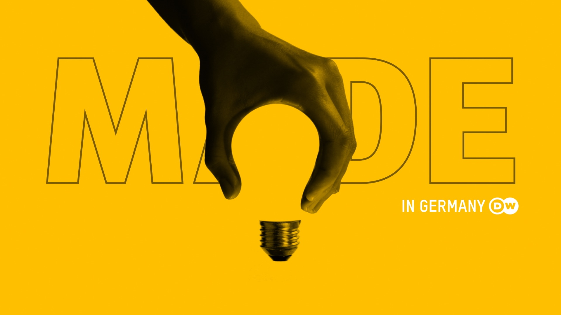 DW MADE Lamp in germany logo design brand branding channel