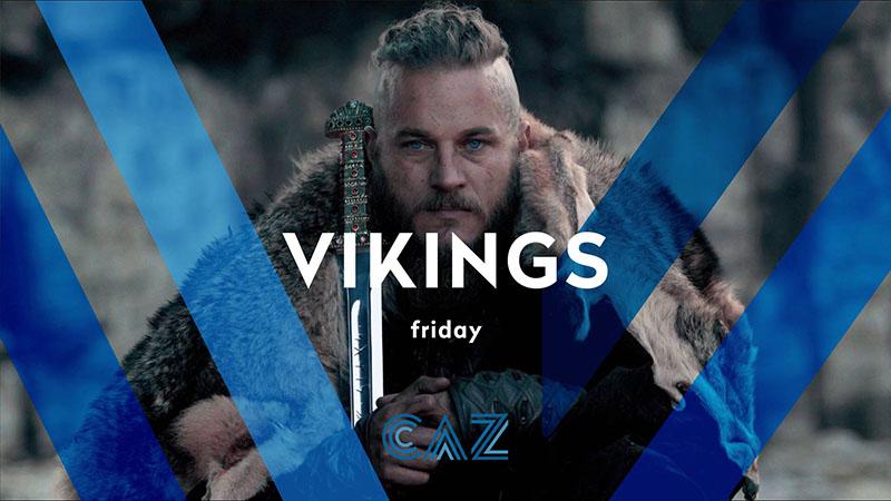 CAZ Vikings opener leader ident frame tv