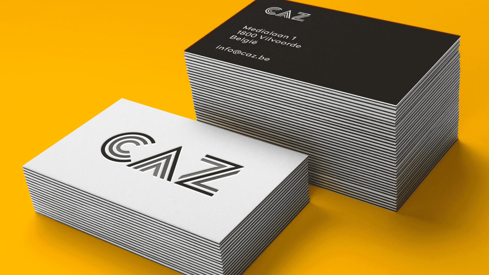 CAZ Business Cards logo