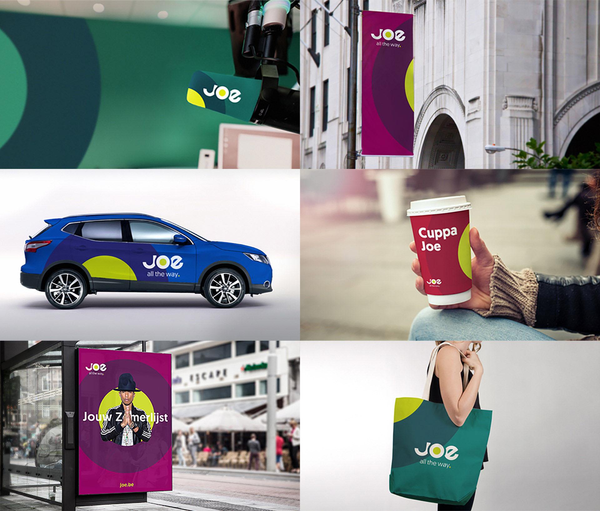 Medialaan Joe Environment and Merchandise design