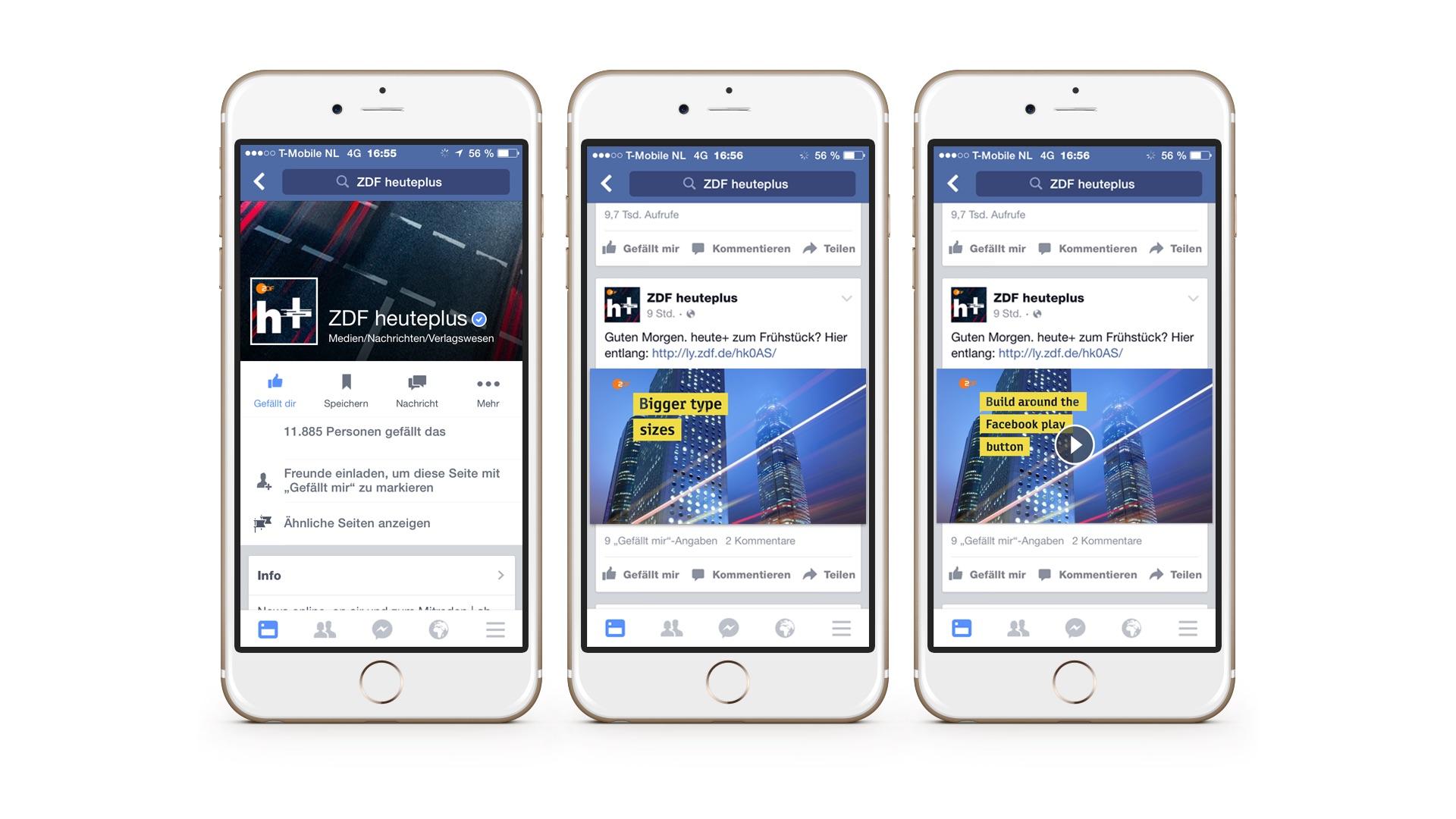 ZDF heute+ Facebook