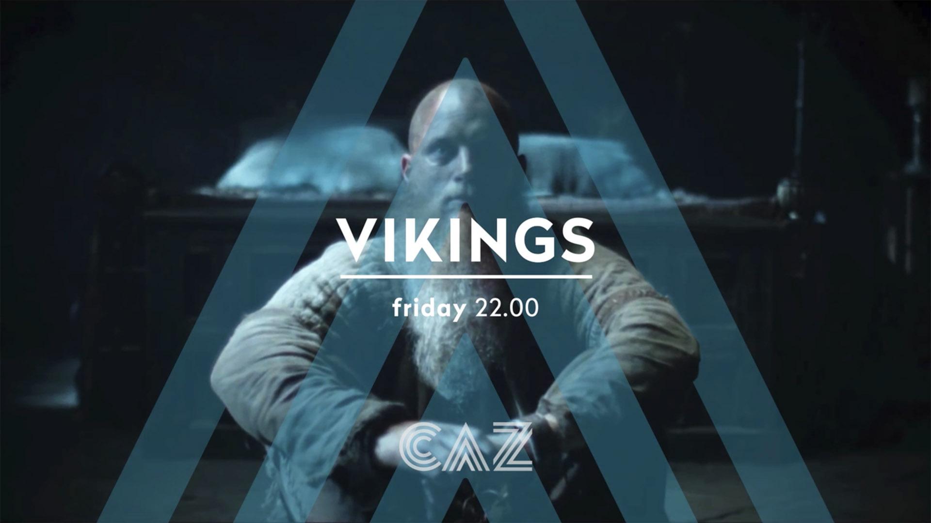 CAZ Vikings logo animation