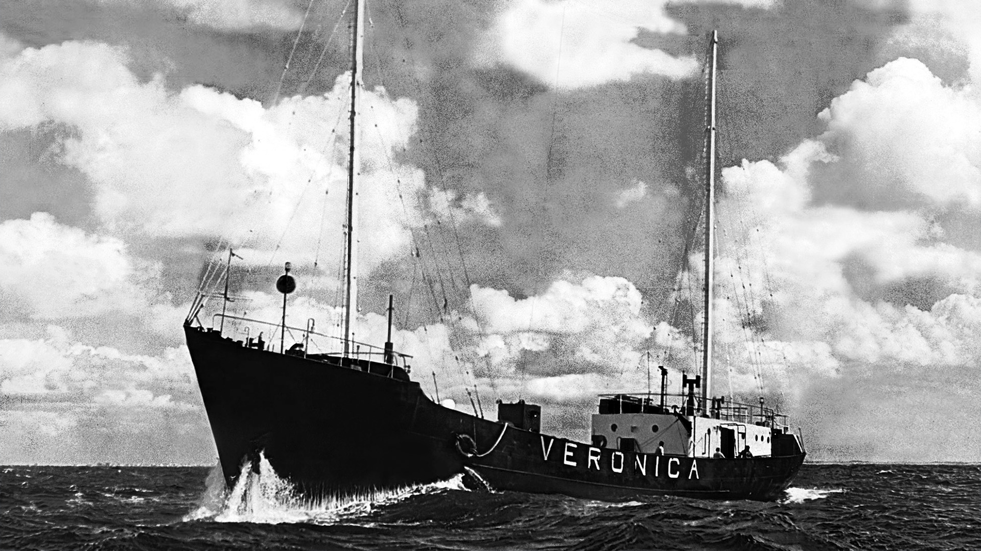 Veronica Ship veronica caperock redesign rebrand channel design  dutch tv blockbuster media branding