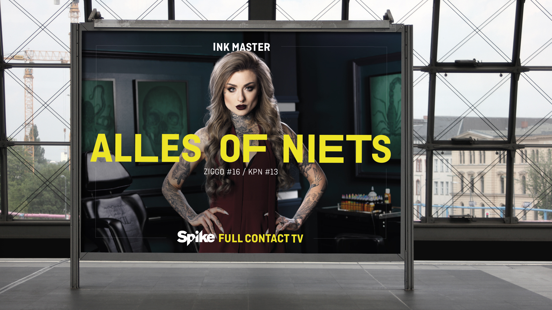 Viacom Spike Billboard