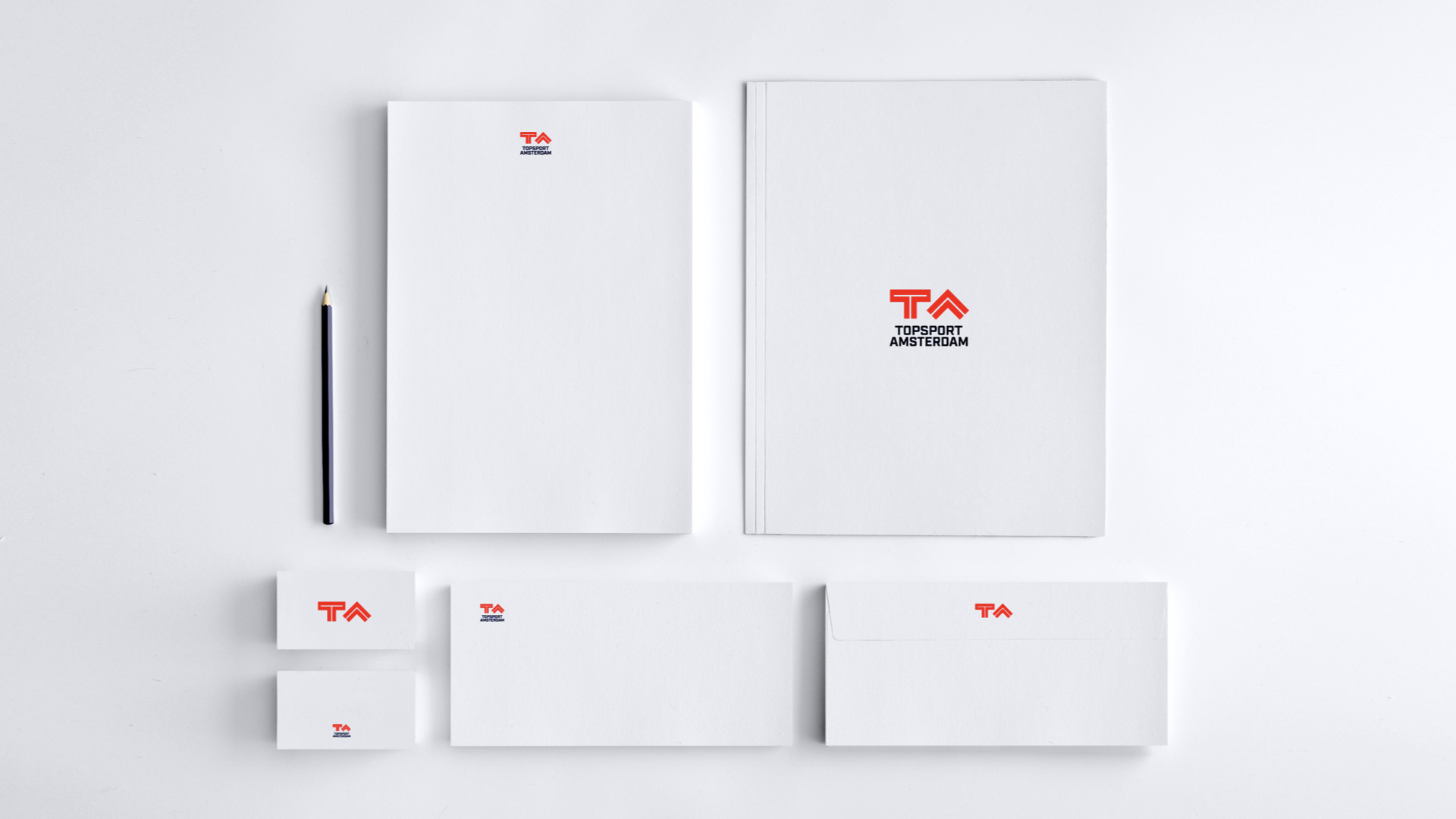 Topsport Amsterdam Collateral Design