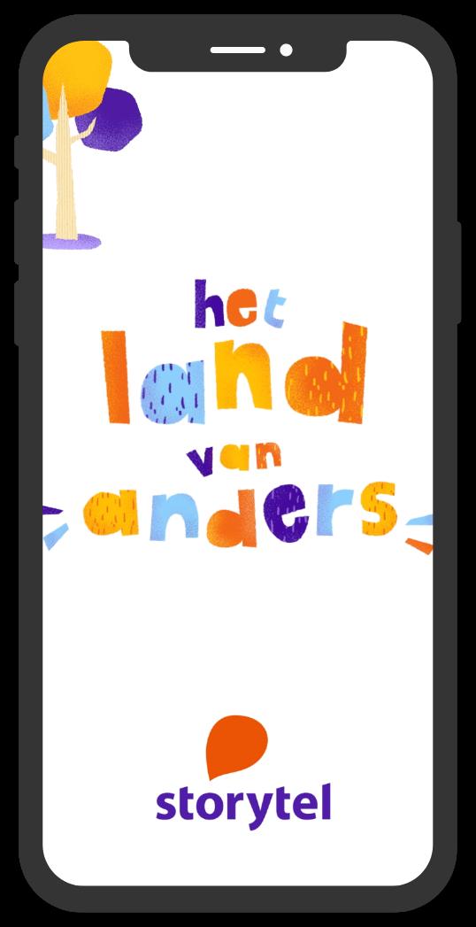 Storytel Original Het Land van Anders Instagram Story