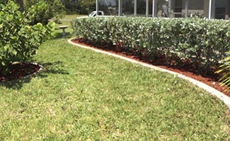 decorative landscape curbing service in Cape Coral and Fort Myers Florida