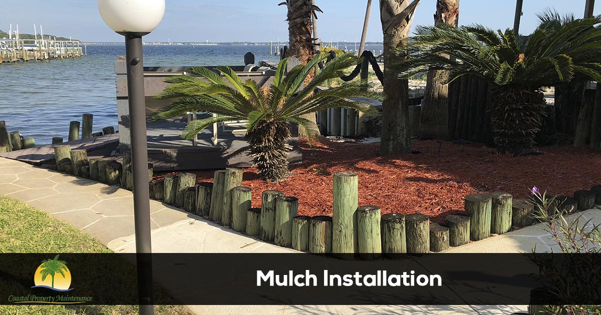 Mulch Installation Services