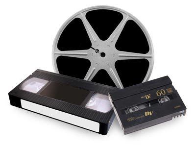 Videotapes transferred to DVD
